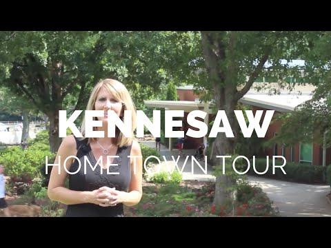 Home Town Tour Of Kennesaw, Georgia