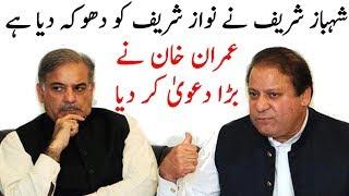 Shahbaz Sharif Ny Nawaz Sharif Ko Dhoka Dia Hai | Imran Khan