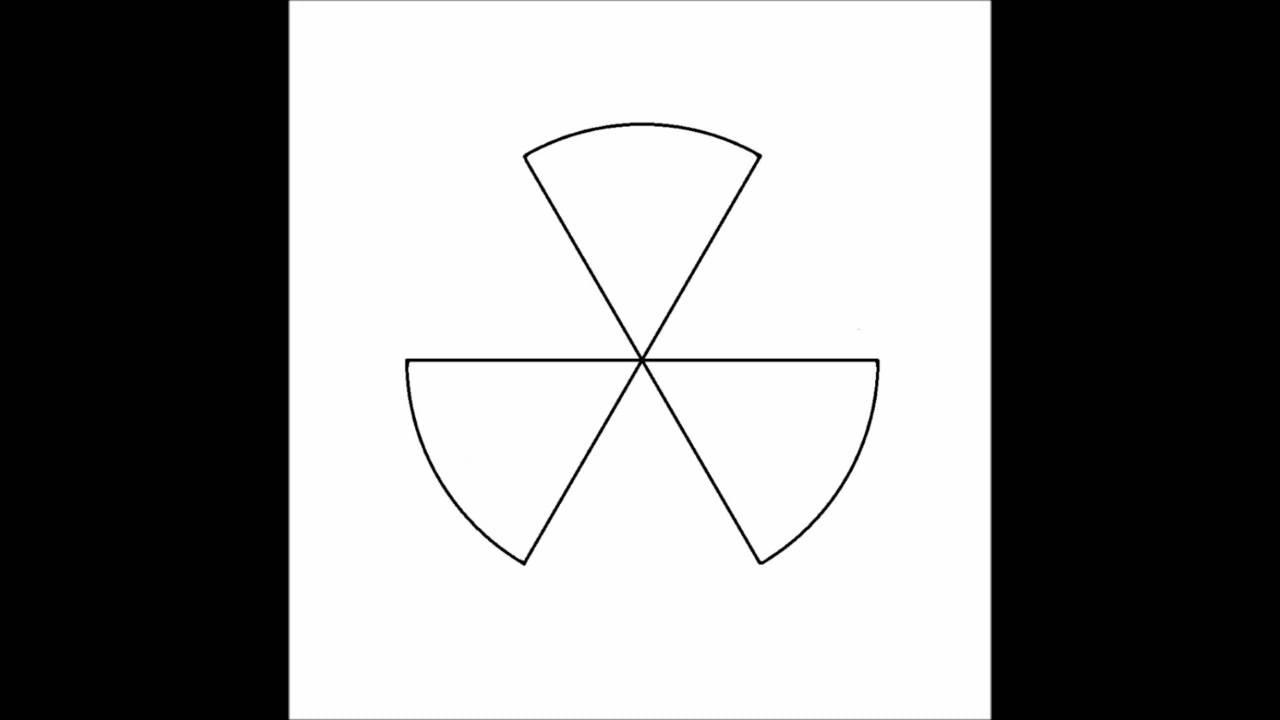 How to make a radioactive symbol no colour youtube how to make a radioactive symbol no colour buycottarizona