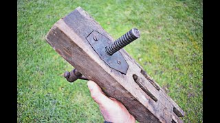 NEW !!! Homemade Tool Idea / Universal long and short Clamp (Bench Vise)