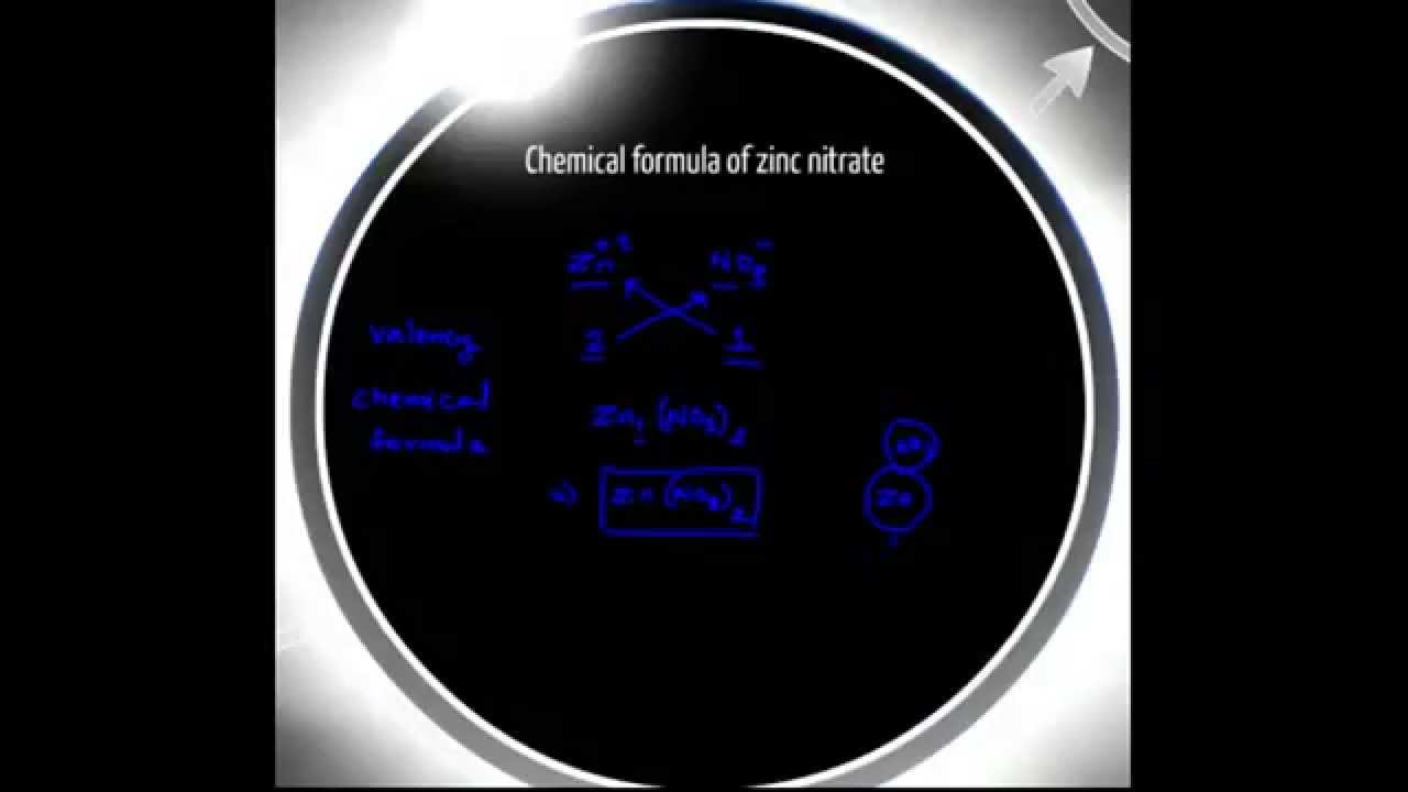 Formula of zinc nitrate youtube formula of zinc nitrate buycottarizona