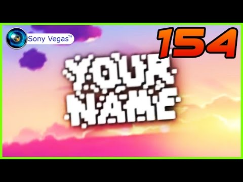 TOP 50 Intro Templates #154 Sony Vegas Pro + Free Download