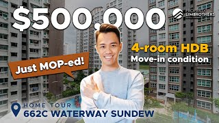 Waterway Sundew : Singapore HDB 4-Room Unit in District 19 ($500K, 662C Edgedale Plains)