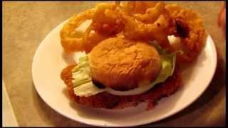 Breaded Pork Tenderloin Sandwich- Indiana Style!
