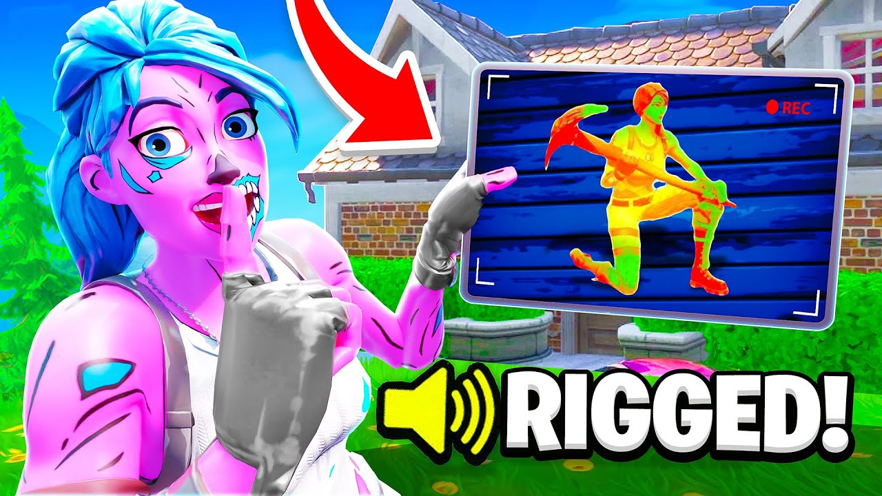 I SECRETLY Rigged my Hide & Seek... (they were mad)