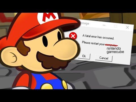 Paper Mario but broken