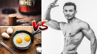 WHEY PROTEIN Vs EGGS- Which is a better Protein source? [ हिंदी में ]