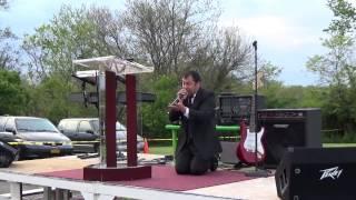 Primer dia de Campaña evangelista en  Marshall Missouri