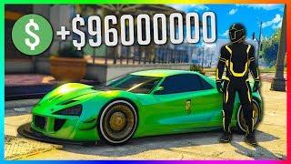 COMMENT J'AI GAGNÉ 96,000,000$ EN 10 MINUTES ! GTA 5 ONLINE ARGENT