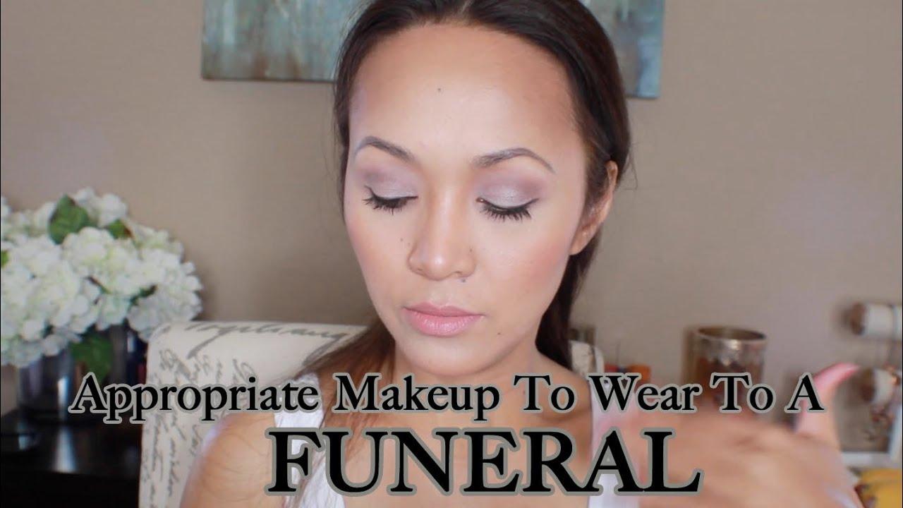 Should I Wear Eye Makeup To A Funeral - Mugeek Vidalondon