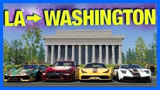 The Crew 2 Online : LA to WASHINGTON!! (Gumball Rally)