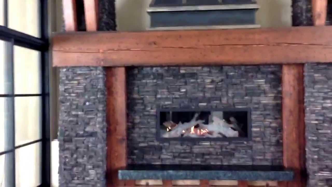 Xtreme gas fireplace by Okanagan Fireplace Den in Kelowna - YouTube