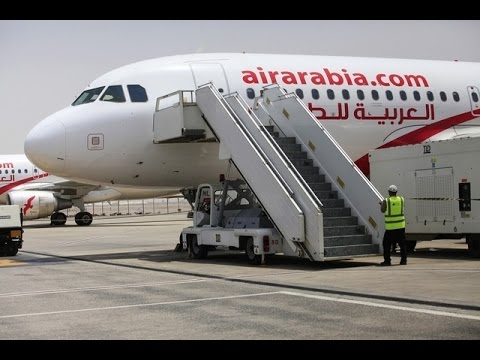 Air Arabia almost crashed.
