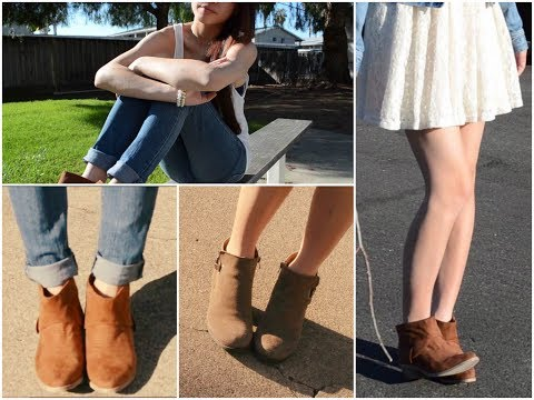 How I wear: Ankle Boots