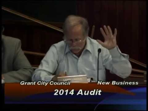 Grant City Treasurer verbally  Attacked by Larry Lanoux