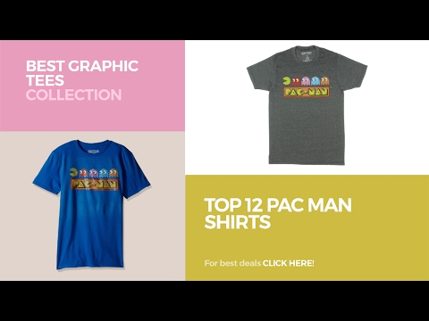 Top 12 Pac Man Shirts // Best Graphic Tees Collection
