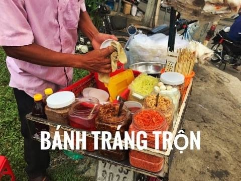Bánh tráng trộn- Delicious street food in Vietnam - 동영상