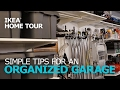 Garage Organization Tips – IKEA Home Tour