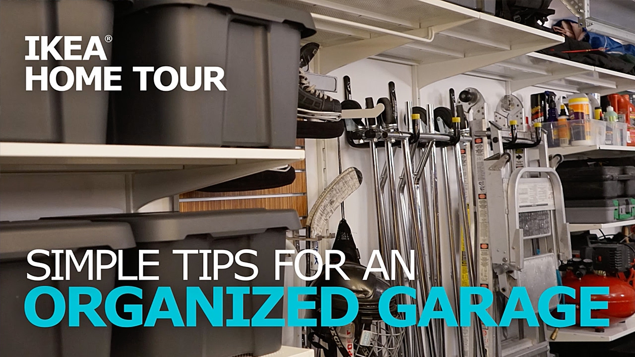 Garage Design Tips Garage Organization Tips Ikea Home Tour Youtube