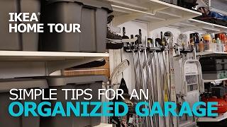 garage organization tips ikea home tour