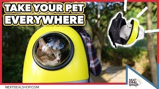 Explore The World With Your Pet! - Bubble Pet Travel Backpack - Next Deal Shop