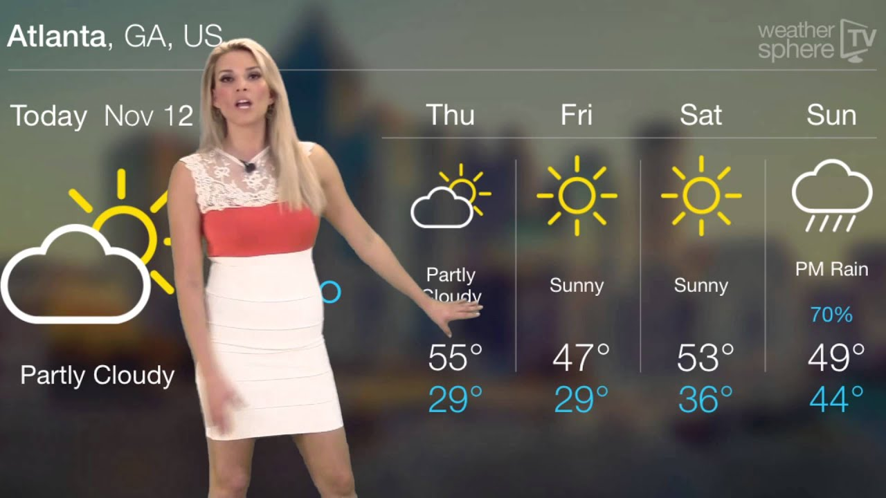 what is the weather in atlanta georgia right now
