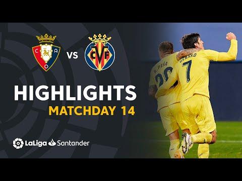 Highlights CA Osasuna vs Villarreal CF (1-3)
