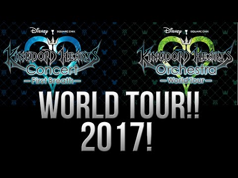 KINGDOM HEARTS WORLD TOUR HAPPENING IN 2017!