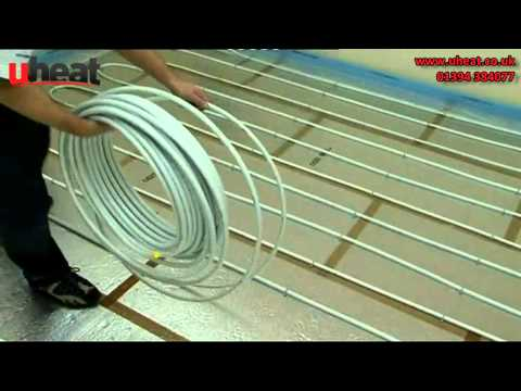 Uheat Underfloor heating Guide To Uponor