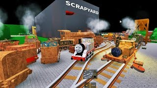 THOMAS AND FRIENDS THE NAUGHTY MINIATURE RAILWAY ROBLOX!
