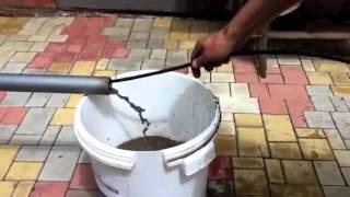 Прочистка канализации гидродинамикой.