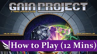 Gaia Project - How to Play (12 minutes)