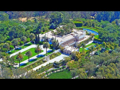 Out of the World Masterpiece! | $40 Million Santa Barbara Hi