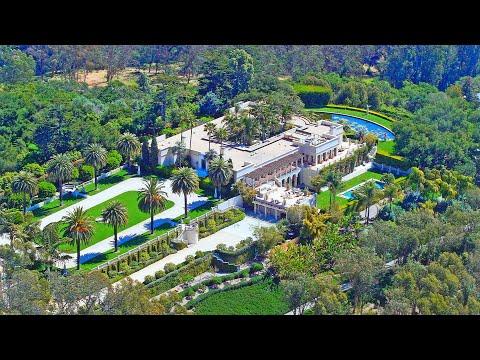 Out of the World Masterpiece!   $40 Million Santa Barbara Historic Mansion