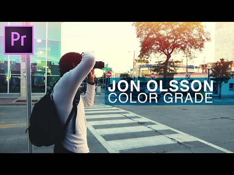 How to Color Grade like Jon Olsson's vlogs in Adobe Premiere Pro CC Tutorial (Team Overkill)