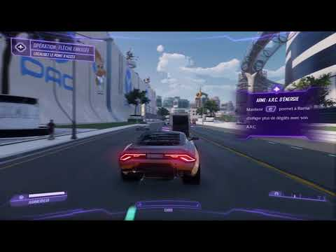 Agents of Mayhem cascades à Seoul en voiture de sport