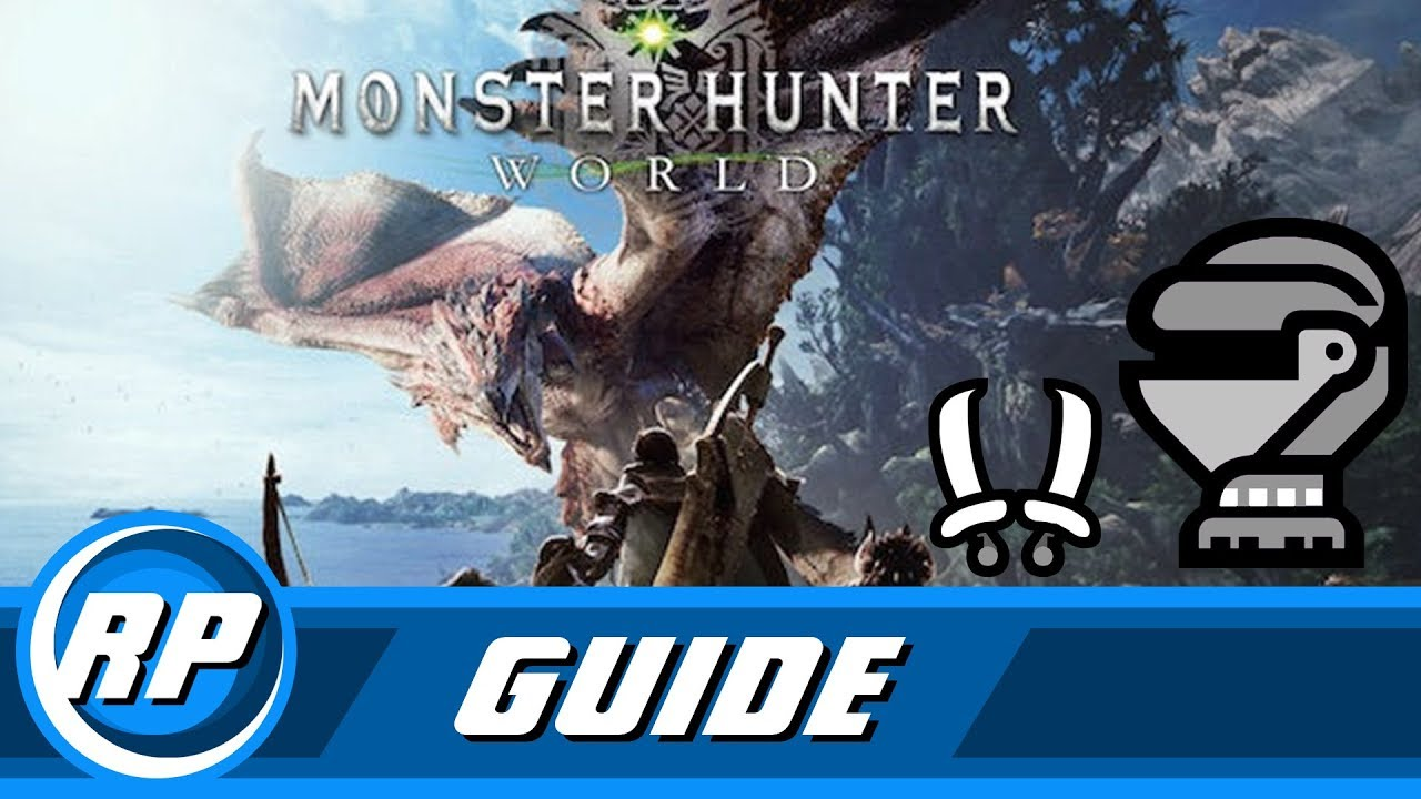 Monster Hunter World - Dual Blade Armor Progression Guide (Recommended Playing)