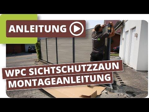 wpc-sichtschutzzaun-montageanleitung