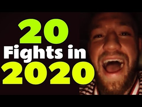 20 UFC Fights To Look Forward To In 2020