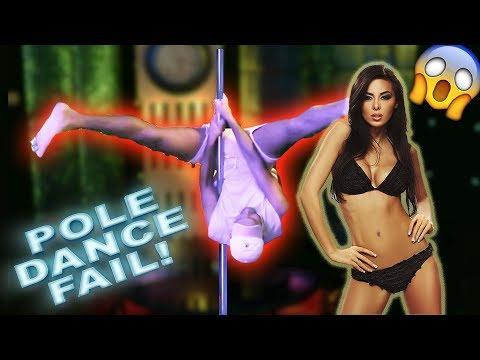 POLE DANCING FAIL!