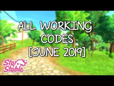 ALL WORKING CODES - STAR STABLE ONLINE - YouTube