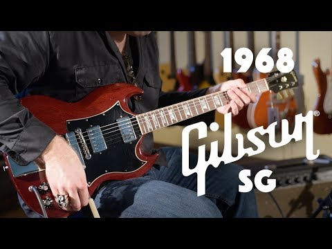 1968 Gibson SG played by JD Simo