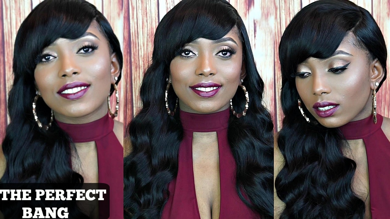 How To Make A Full Wig With Deep Side Bang