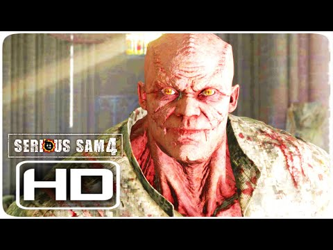 SERIOUS SAM 4 General Brand Full Mutation & Transformation (General Betrayal) Scene NEW [HD] |