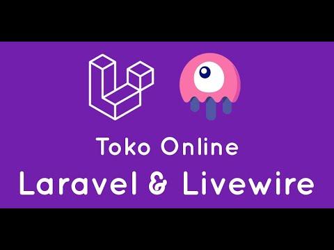 Toko Online Dengan Laravel & Livewire Full Spa (single Page Application)