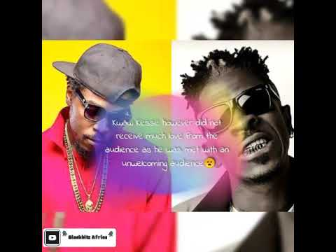 kwaw-kese-finally-replies-sm-fans-after-they-hooted-and-threw-bottle-at-him-on-shatta's-event