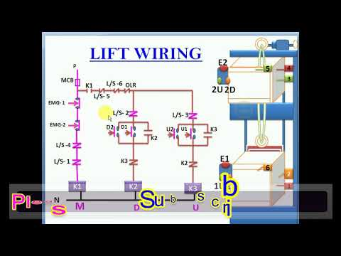 How to Lift wiring # how to lift operate # Circuit diagram lift # How to  Use Building Lift - YouTubeYouTube