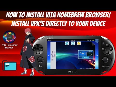 How To Install Vita Homebrew Browser! (Install VPK's Directly To Your Device) 3.60-3.73 #HENkaku