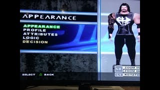 How to create Roman Reigns in PS2 SmackDown Pain game