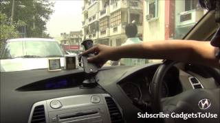 Tom Tom Handsfree Car Mount Dock For Android Phone Review, Features, Unboxing and Overview HD